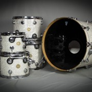 DW White Pearl Kit