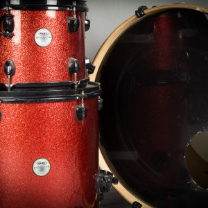 Mapex Red Sparkle Kit Close